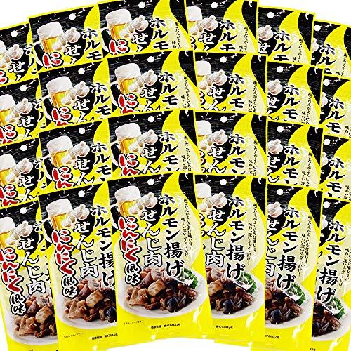 広島名産 せんじ肉 にんにく風味 24袋セット(1袋40g) ホルモン珍味 せんじがら 大黒屋食品