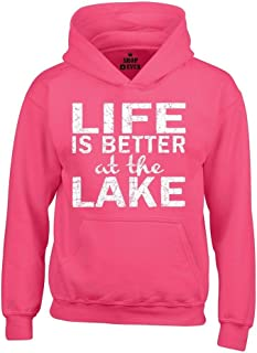 life is better at the lake sweatshirt