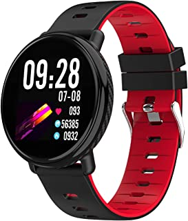 RGTOPONE Waterproof Smart Watch Men Fathers Day Gift IP68 Sports Smartwatch Professional Exercise Modes Enhanced Bluetooth Fitness Tracker Heart Rate Blood Pressure Monitor Messages Reminder