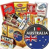 I love Australia / Süßigkeiten Ostbox / Australien Geschenk