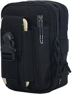 OneTigris MOLLE EDC Pouch (Black – Larger Capacity)