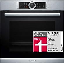 Bosch HBG675BS1 Serie 8 Einbau-Backofen / A / 71 L / Edelstahl / Klapptür / TFT-Display / 13 Beheizungsarten / AutoPilot 10 / EcoClean Direct / 4D Heißluft / Schnellaufheizung