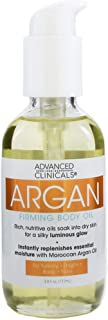 Advanced clinicals argan firming body oil - 112 ml
