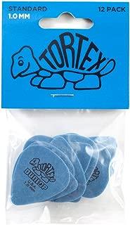 Dunlop Tortex Standard 1.0mm Blue Guitar Pick - 12 Pack