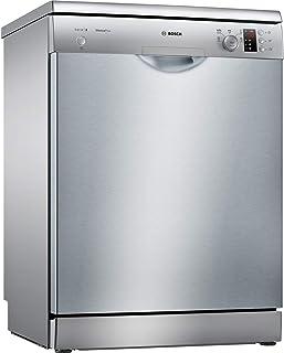 Bosch Serie 2 SMS25AI02E lavavajilla Independiente 12 Cubiertos A++ - Lavavajillas (Independiente, Tamaño Completo (60 cm), Acero Inoxidable, Acero Inoxidable, Botones, Giratorio, 1,75 m)
