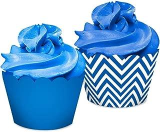Regina Cupcake Wrapper R568 Festa Colors Azul Royal Pacote De 16 Unidades
