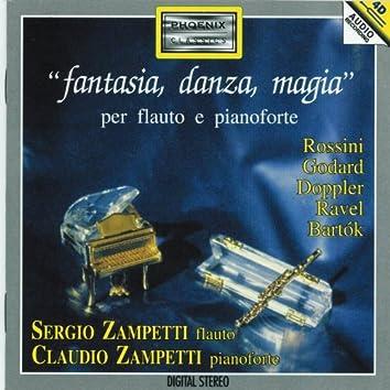 Fantasia, danza, magia per flauto e pianoforte