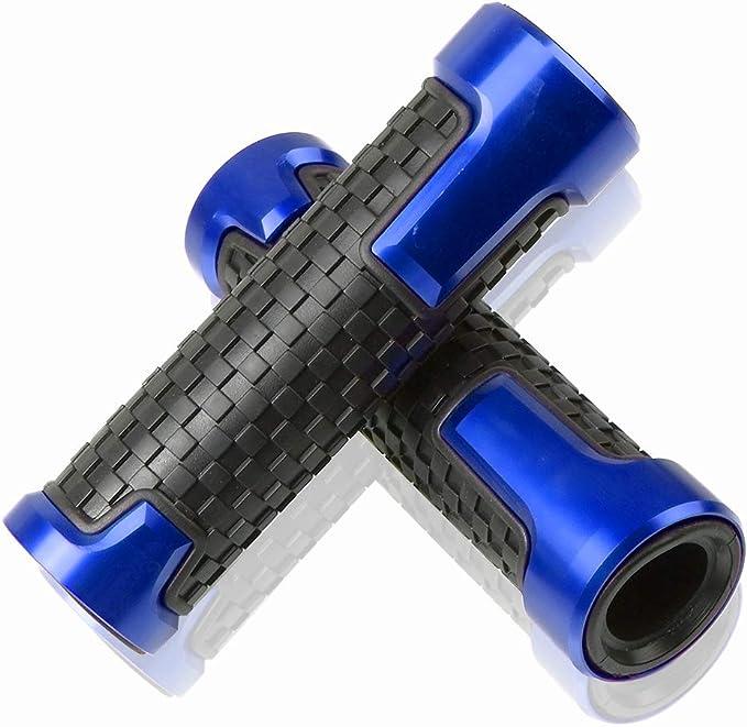 22mm Motorrad Lenkergriffe Für Aluminium Und Kunststoff Für Yamaha Mt 01 Mt 03 Mt 07 Mt 09 Mt10 Yzf R125 R1 R3 R6 Blau Auto