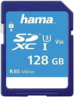 Hama Class 10 SDXC 128GB Speicherkarte (UHS I, 85Mbps)