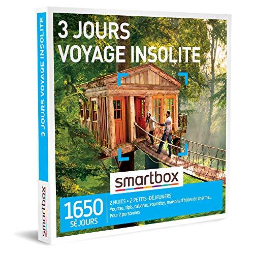 Coffret Smartbox 3 jours voyage insolite