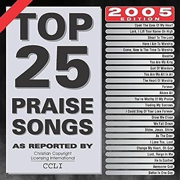 Top 25 Praise Songs: 2005