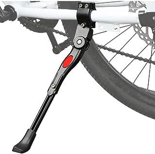 Bike Kickstand,Mountain Bike Tripod Support Bicycle Parking Frame Bicycle Side Support Bike Ride Equipment Adjustable (Black)