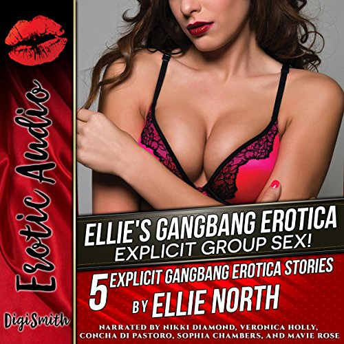 Ellie's Gangbang Erotica audiobook cover art
