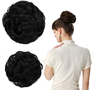 Best black messy hair Reviews