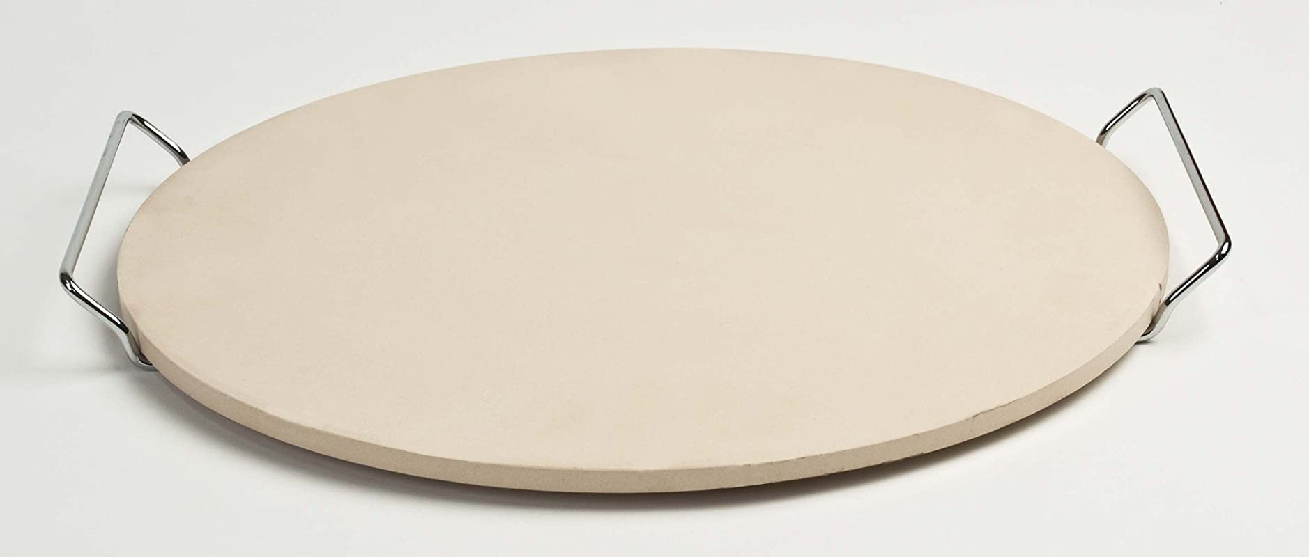 Pizza Craft 15 Round Pizza Stone With Wire Frame