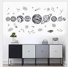Dormitorio pegatinas de pared espacio planeta bosquejo pegatinas de pared sala de estar TV sofá estudio decoración de fond...