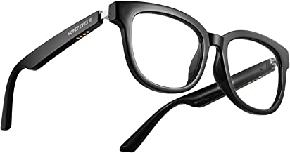 Hoyee Eyes Nova - TWS Audio Glasses Smart Eyewear with HD Directional Speaker Headphones & Blue Light Blocking Lenses - Up...