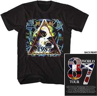 Def Leppard Shirt World Tour 87 T-Shirt