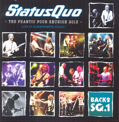 Status Quo -Back2sq.1 - The frantic tour reunion 2013 - Live at Wembley Arena(+CD)