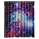 KXMDXA Custom Space Nebula Universe Pattern Retro Galaxy Tribal Patterned Shower Curtain (60' x 72')