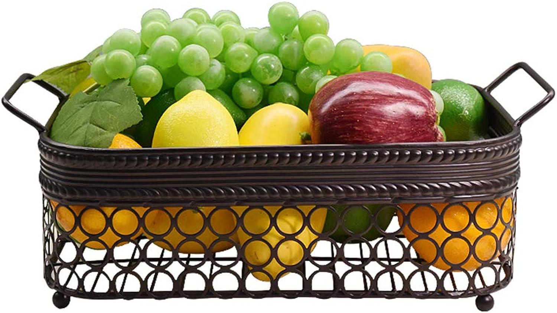 Panier De Fruits, Panier De Cuisine Et De Légumes, Articles De Bureau Stockage De Cosmétiques, Bol à Pain (Couleur   Bronze)