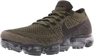 Nike Air Vapormax Flyknit Running Men's Shoes, Cargo Khaki/Black/Olive, Size 15