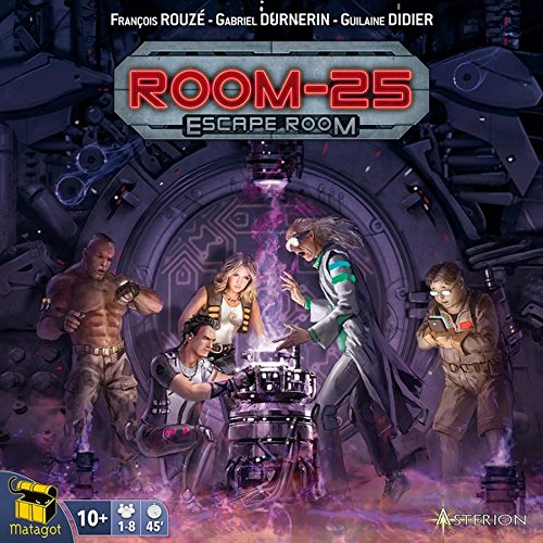 Asterion - ROOM 25 : ESCAPE ROOM Gioco da Tavolo in ITALIANO