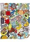 102 pcs Vine Autocollants Paquet, Autocollants Stickers en Vinyle pour Ordinateur Portable pour Bouteille d'eau, Snowboard, Bagages, Motos, iPhone, MacBook, Mur
