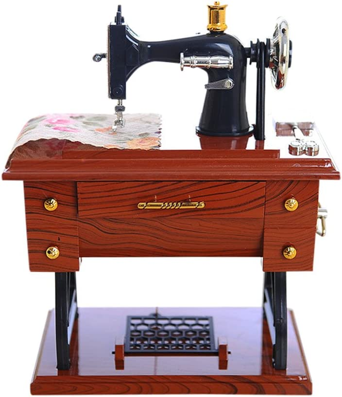 Musical Sewing Save money Machine Music Sty Box Vintage Max 61% OFF Mini