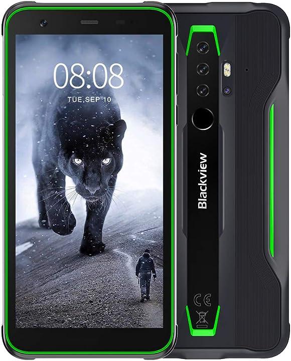 Smartphone 4g blackview bv6300 pro antiurto con 16mp+13mp helio p70 octa-core 6gb ram/128gb rom 5.7pollici B08D9F8CD1