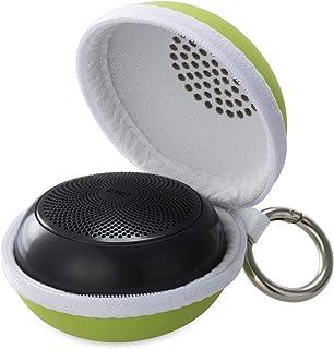 EWA A110 mini Portable Bluetooth Speaker, metal speaker with hard travel case, TWS function can pair two speakers to enjoy...
