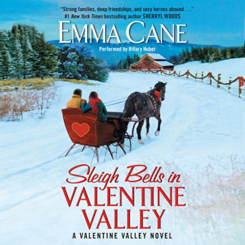 Sleigh Bells in Valentine Valley audiobook cover art