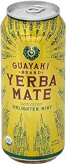 Guayaki Organic Yerba Mate, Enlighten Mint, 15.5 Ounce (Pack of 12)