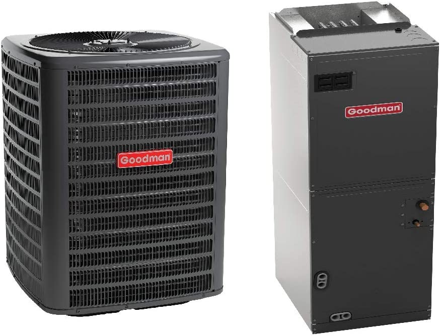 Goodman 2.5 Ton 14 Seer Air Conditioning System with Multi Position Air Handler