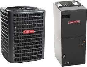 Goodman 3 Ton 16 Seer Heat Pump System with Multi Position Air Handler