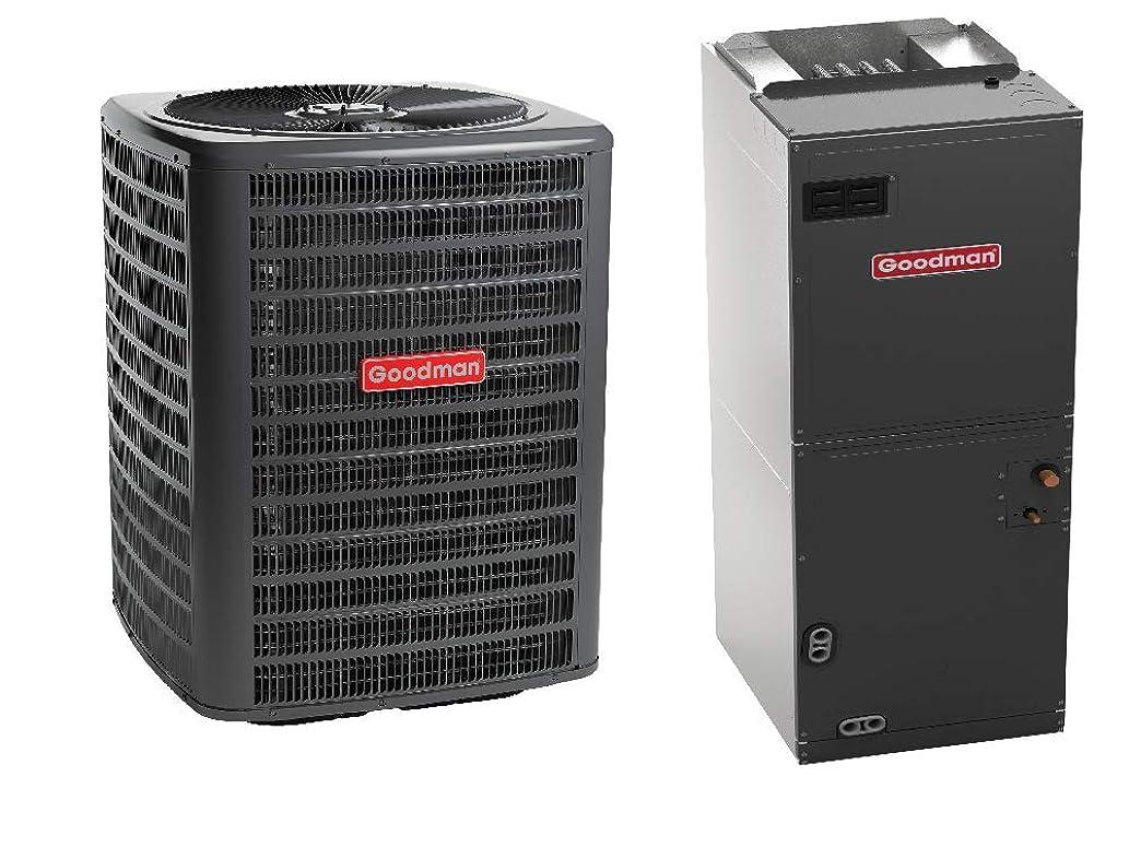 Goodman 2.5 Ton 16 SEER Air Conditioner GSX160301, Upflow, Downflow, Horizontal Air Handler ASPT36C14