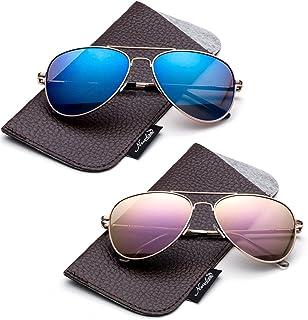 Kids Juniors Aviator Polarized Sunglasses HQ Durable...