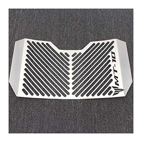 Cubiertas de radiador de motocicleta para Yamaha MT-10 2016-2017 motocicleta radiador rejilla protector parrilla protector aceite enfriador cubierta protección