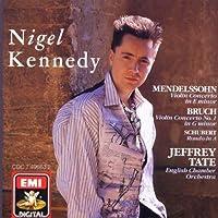 Mendelssohn: Violin Concerto in E minor; Bruch: Violin Concerto No. 1; Schubert: Rondo in A by Nigel Kennedy (2004-01-01)
