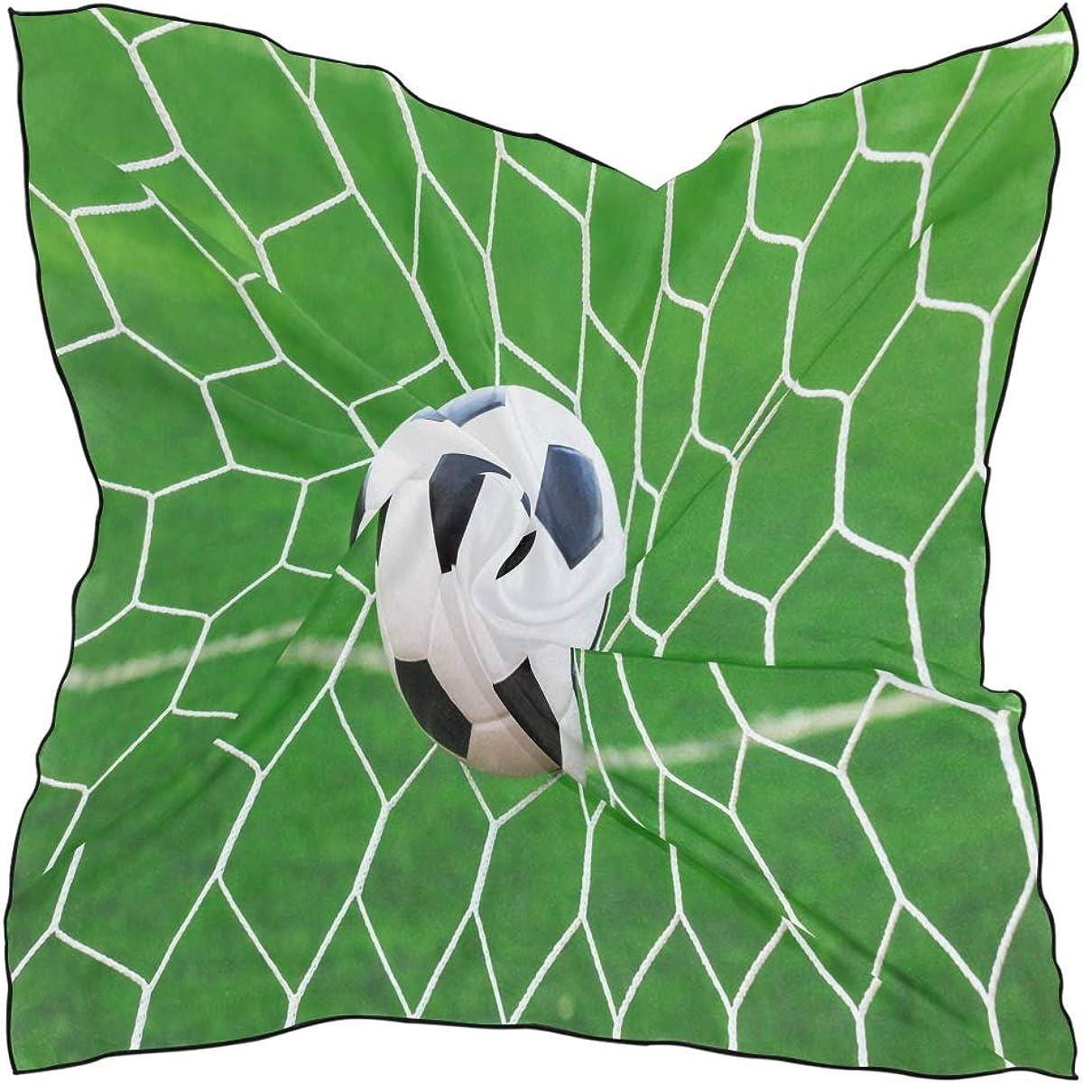 XLING Fashion Square Scarf Sport Football Soccer Lightweight Sunscreen Scarves Muffler Hair Wrap Headscarf Neckerchief for Women Men