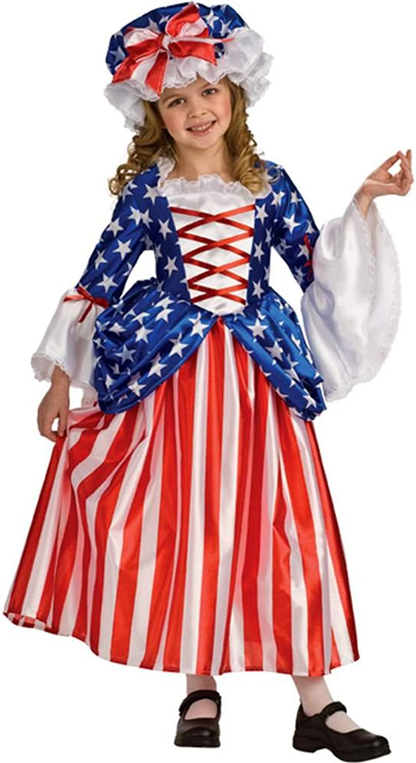Rubies Costume Rubie's Deluxe Betsy Ross, Small (46)