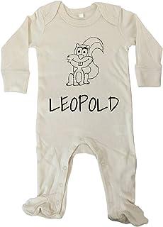 JOllify JOllipets Baby Strampler Langarm - LEOPOLD - 100% BIO - Variante: Tiere Zoo