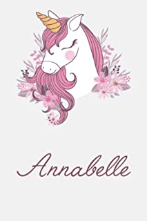 Annabelle And Unicorn: Great Gifts Notebook for Women, Girls, Wives, Mom, Aunt kids Friends | Fun Spy Games for Holiday | ...