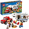 LEGO City Pickup & Caravan 60182 Building Kit (344 Pieces) from LEGO