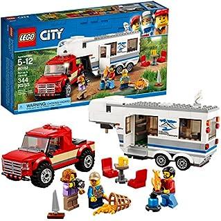 LEGO City Pickup & Caravan 60182 Building Kit (344 Piece)