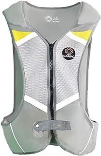 haozai Återanvändbara fallförebyggande ryggskydd krockkudde cykel, skydd för rygg och höft samt hals och korsben, för moto...