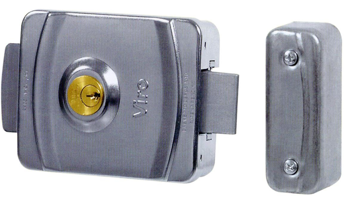 Cerradura el/éctrica para Aplicar Viro V9083 Art.9083 Dim.127x103 Ajustable mm