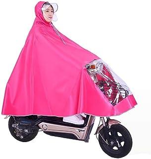 RYY Raincoats Raincoat,Hooded Rainwear,Poncho,Motorcycle Poncho Cycling Raincoat Protective Gear for Work Outdoor Activity...