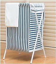 XinQing-Storage basket Dirty Clothes Storage Basket Folding Laundry Basket Bag Large Nordic Fabric Put Clothing Basket Wit...