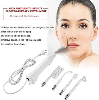 Portable Electrode High Frequency Spot Acne Remover Facial Skin Care Massager for Face Beauty Device Spa Salon HOM US EU Plug